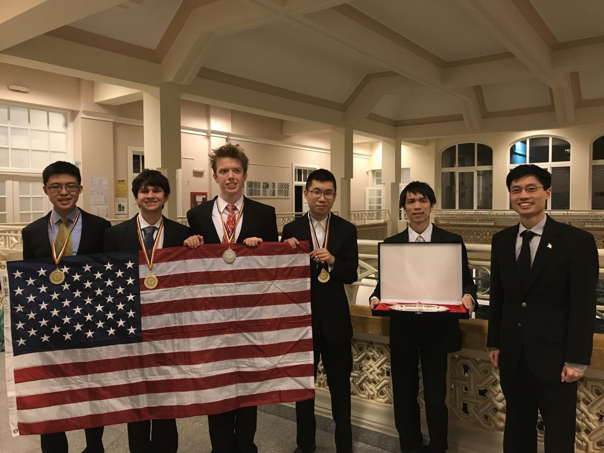 U S  Team Takes Top Prize at Romanian Master of Mathematics