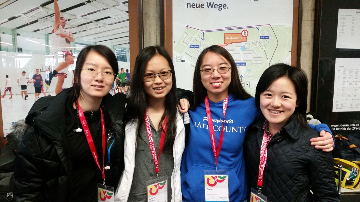 U S  Team Wins First Place at European Girls' Mathematical Olympiad