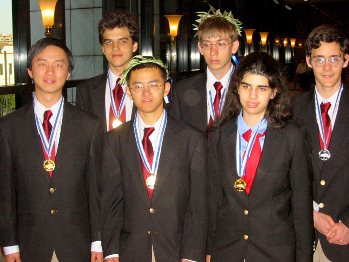 2004 IMO US Team Results in Athens, Greece | Mathematical