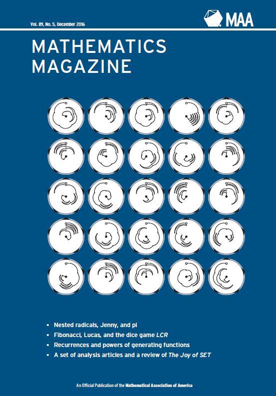 Mathematics Magazine - December 2016 | Mathematical Association of ...