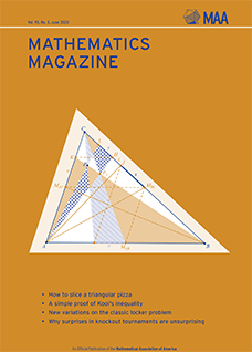 Mathematics Magazine June 2018