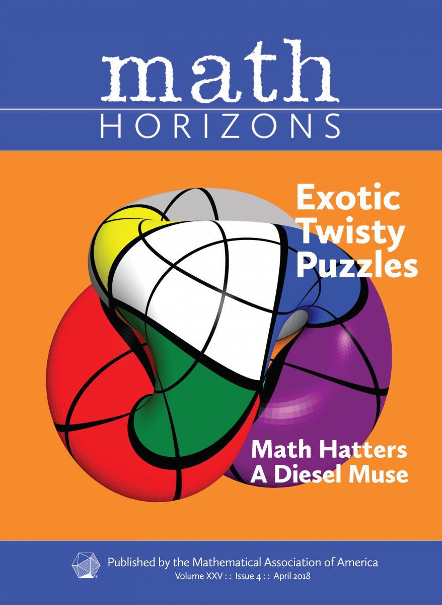 Math Horizons April 2018 Cover