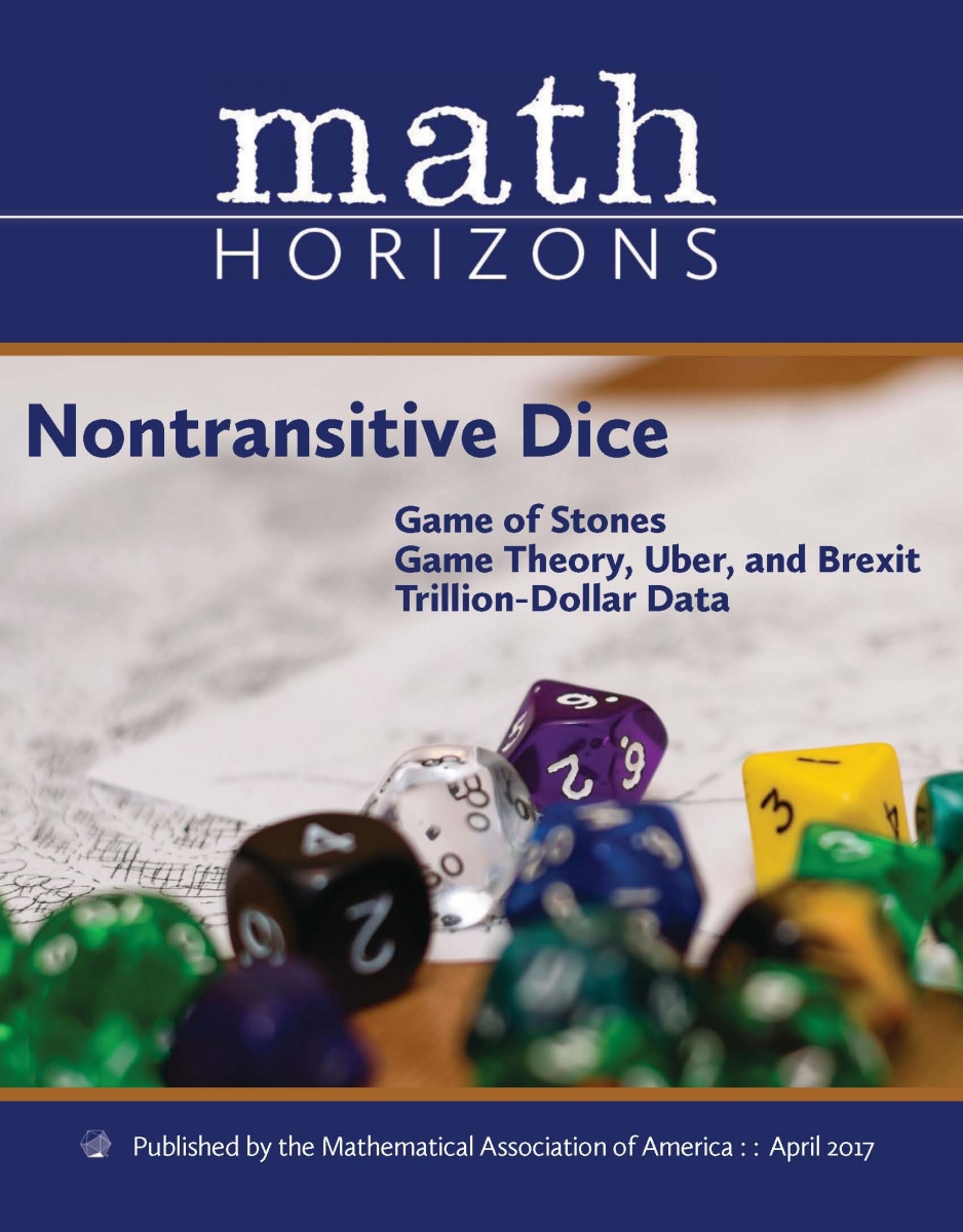 math horizons mathematical association of america math horizons