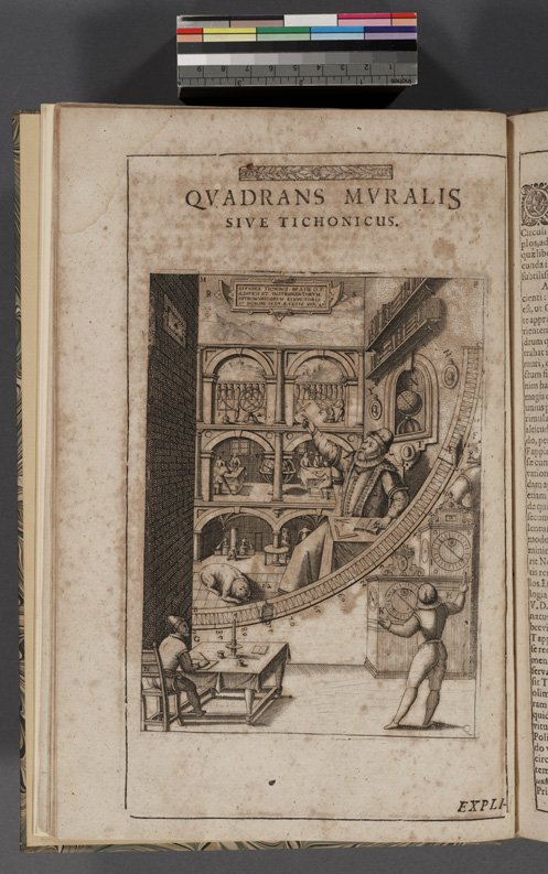 Mathematical treasures tycho brahe 39 s astronomical for Mural quadrant