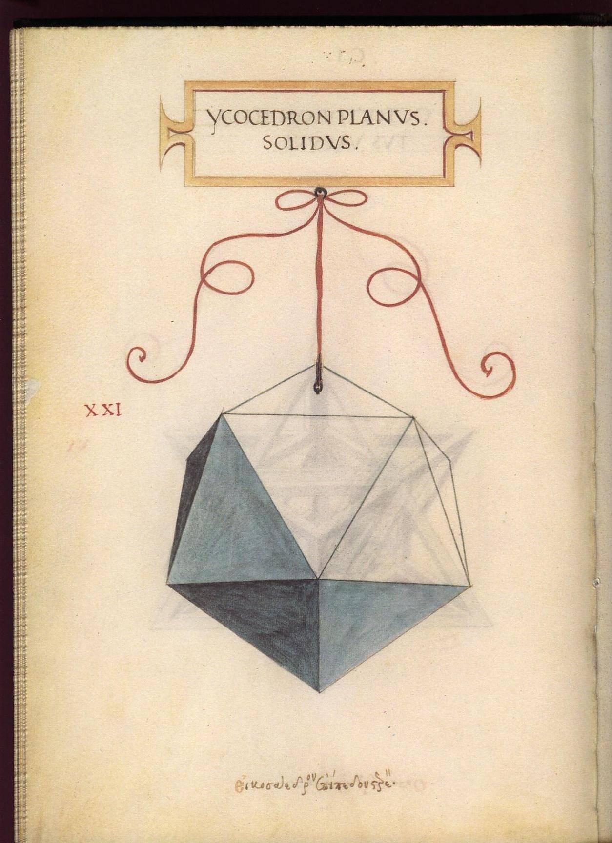 Leonardo Da Vincis Geometric Sketches