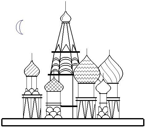 Parametric plots a creative outlet examples of student work for Cathedral coloring pages