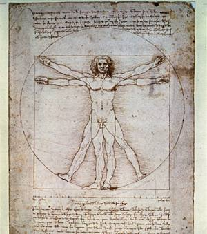 da vinci a man of math What's so special about leonardo da vinci's vitruvian man with arms outstretched, the man fills the irreconcilable spaces of a circle and a square -.