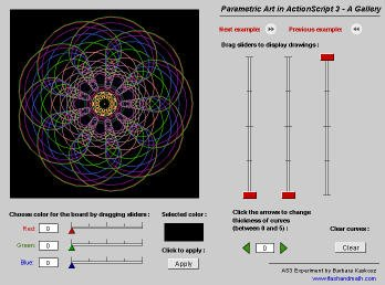 A Gallery of Parametric Art