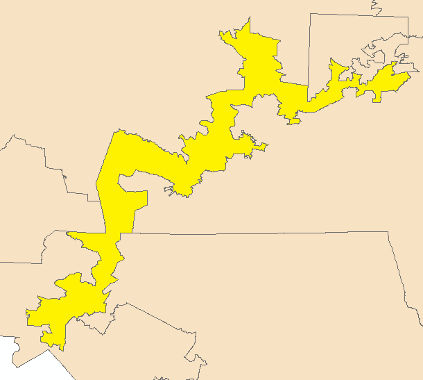 A Political Redistricting Tool For The Rest Of Us Redistricting - Nc district map for us congress
