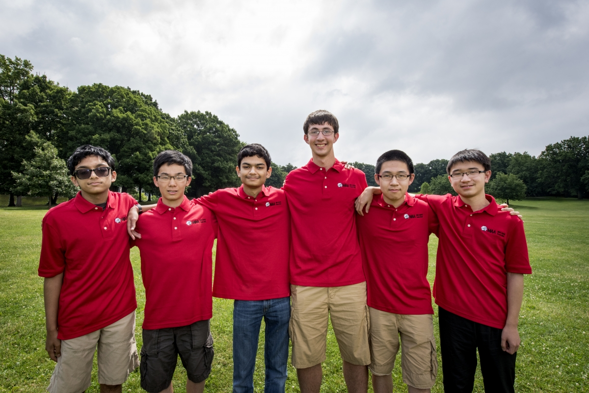 U S  Wins First Place at International Mathematics Competition in