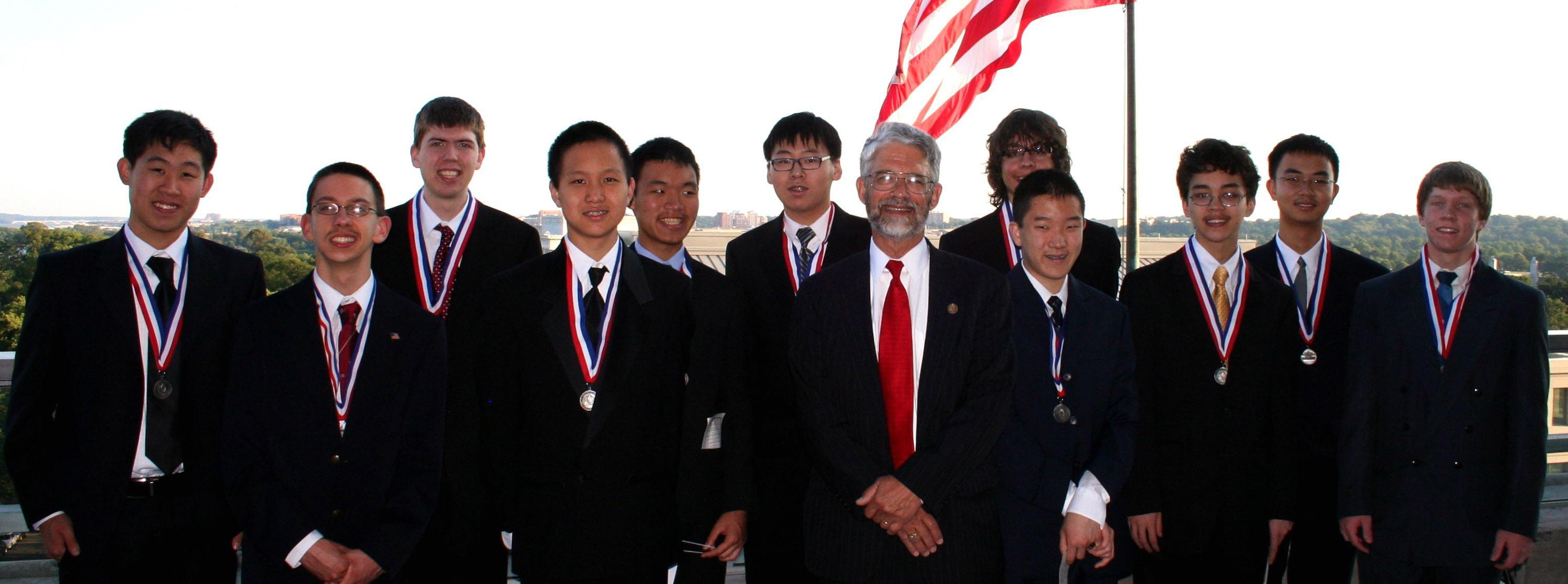 2010 High School Mathematics Olympians Honored in Washington