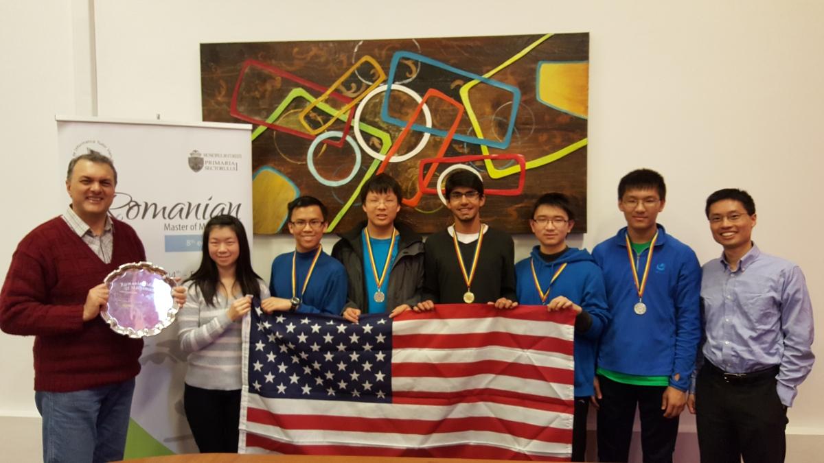 U S  Wins Romanian Master of Mathematics Competition