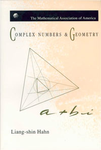 Complex Numbers Amp Geometry Mathematical Association Of border=