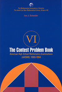 The Contest Problem Book VI
