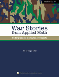 War Stories from Applied Mathematics: Undergraduate Consultancy Projects