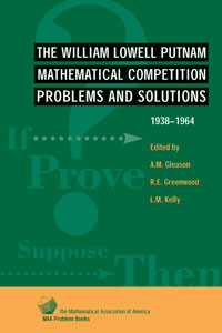 The William Lowell Putnam Mathematical Competition 1938-1964