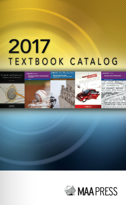 2017 MAA Textbook Catalog
