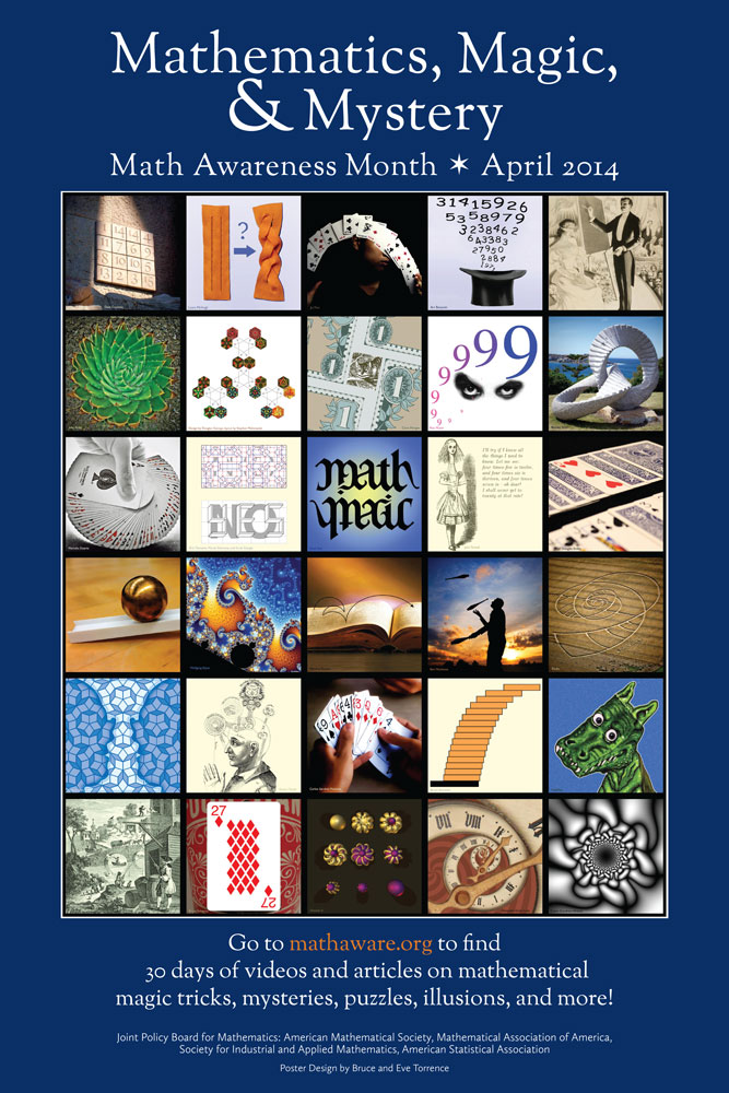 Full size poster available at www.mathaware.org