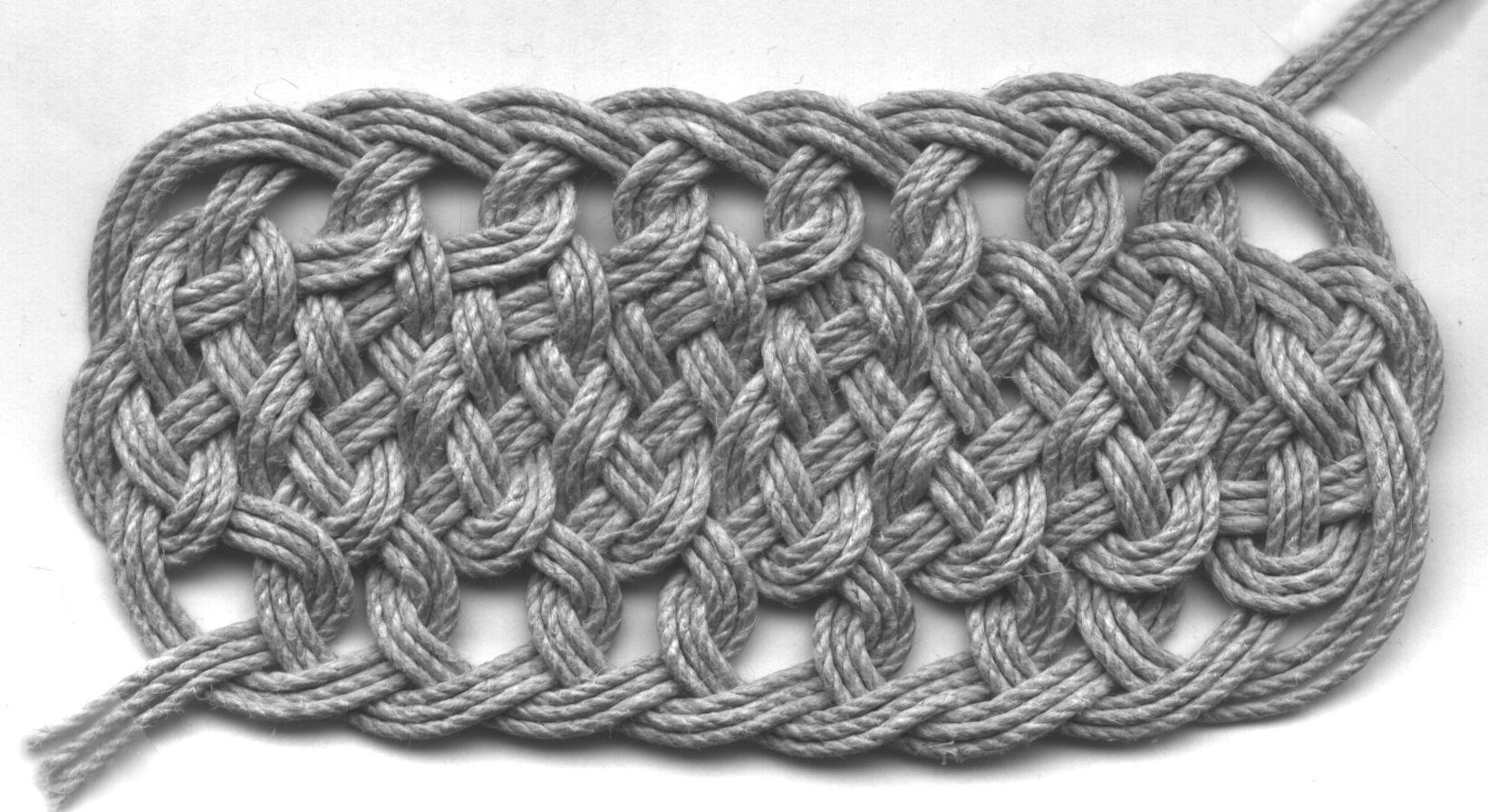 Woven Rope Friezes Mathematical Association Of America
