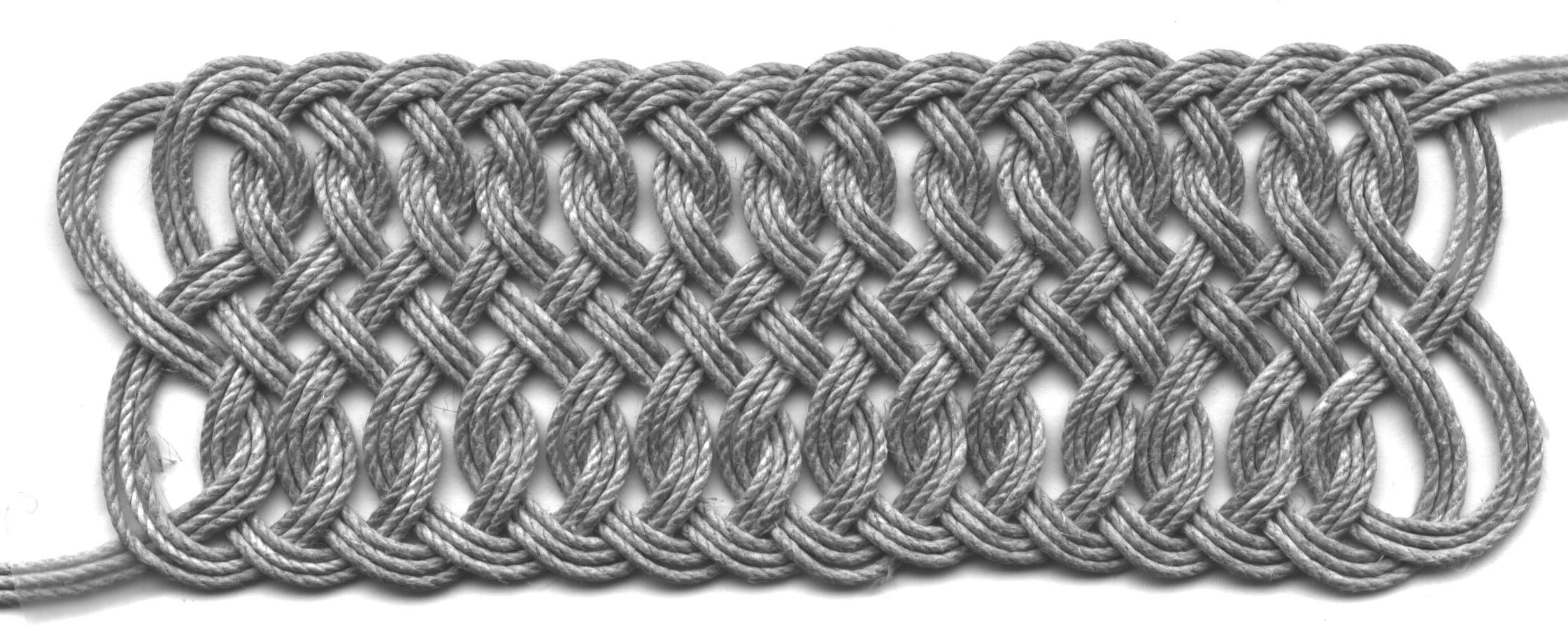 woven rope friezes
