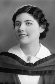 Jeanne LeCaine's graduation photograph