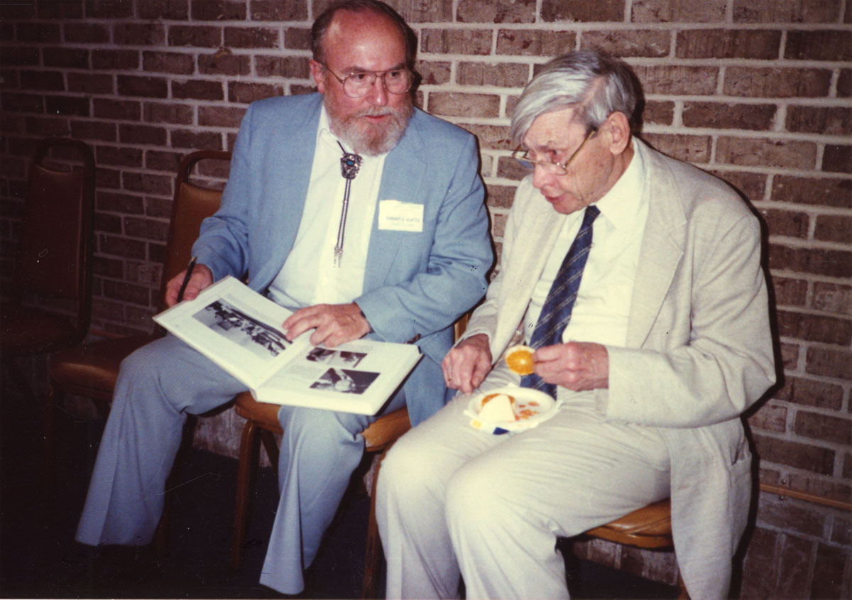 Robert Bartle and Marshall Stone