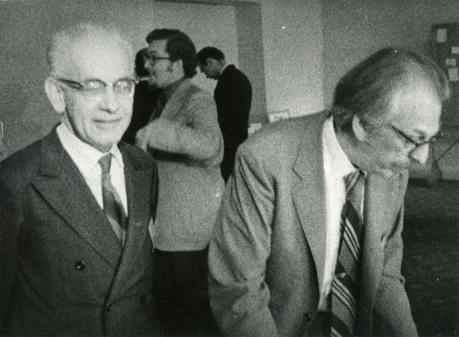Eugene Lukacs and Lipa Bers