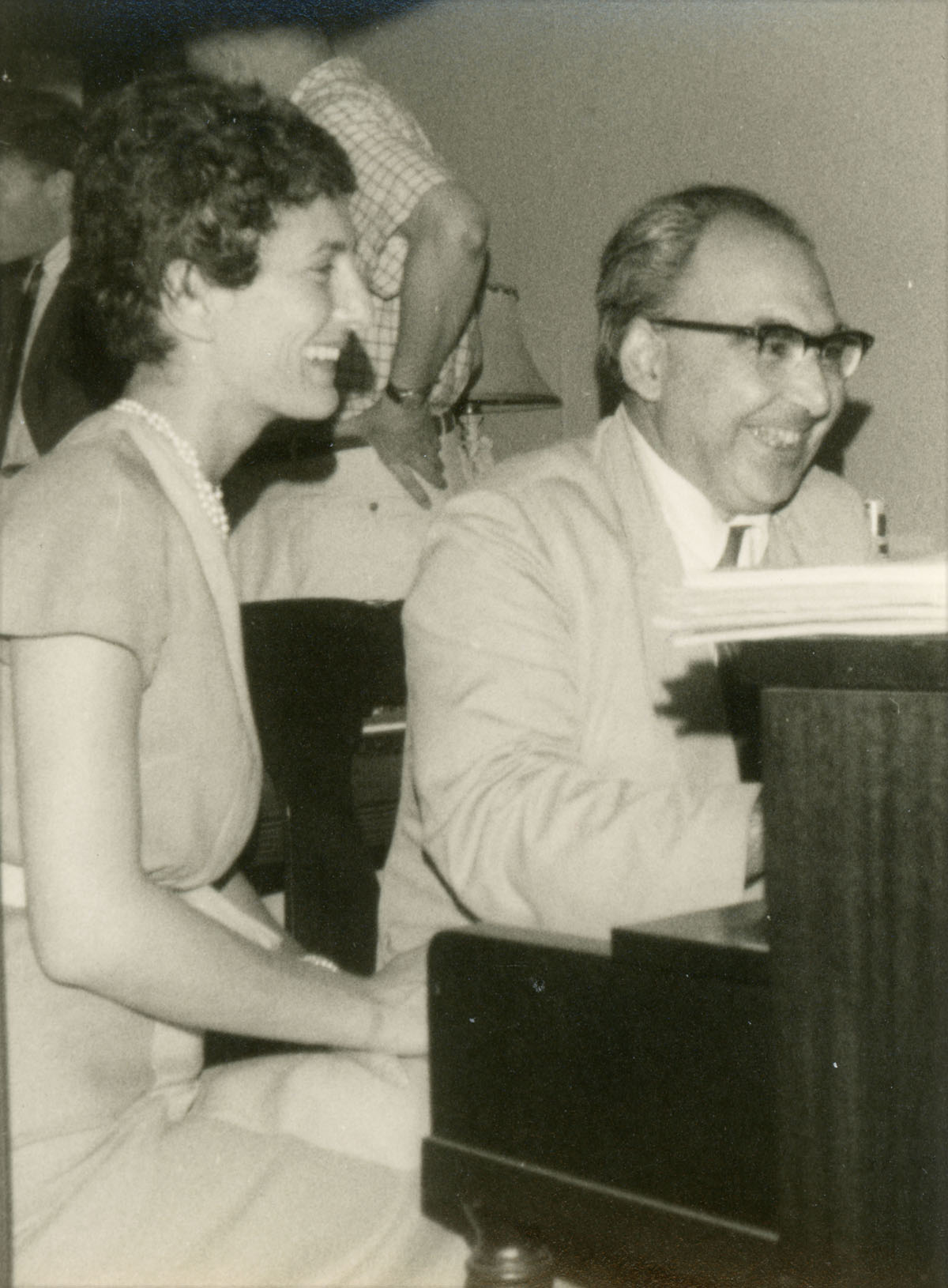 Alfred Renyi and Natalie Davis
