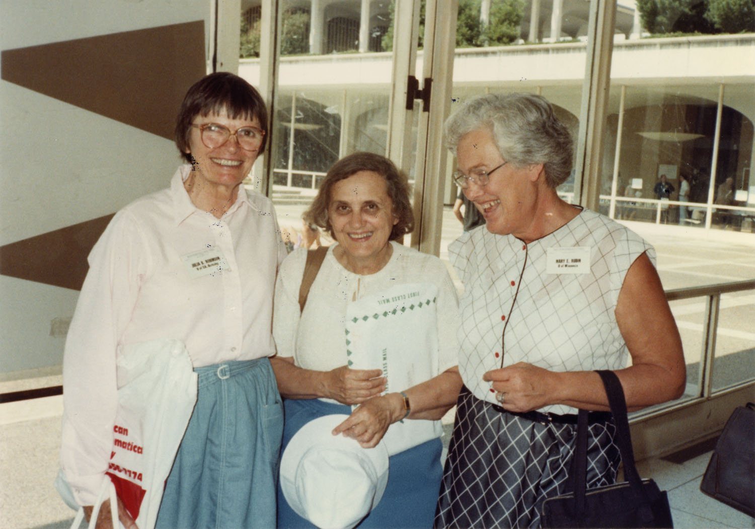 Julia Robinson, Lisl Gaal, and Mary Ellen Rudin