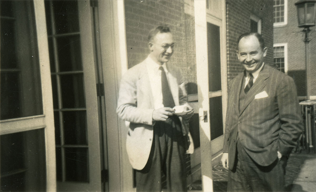Taub and von Neumann