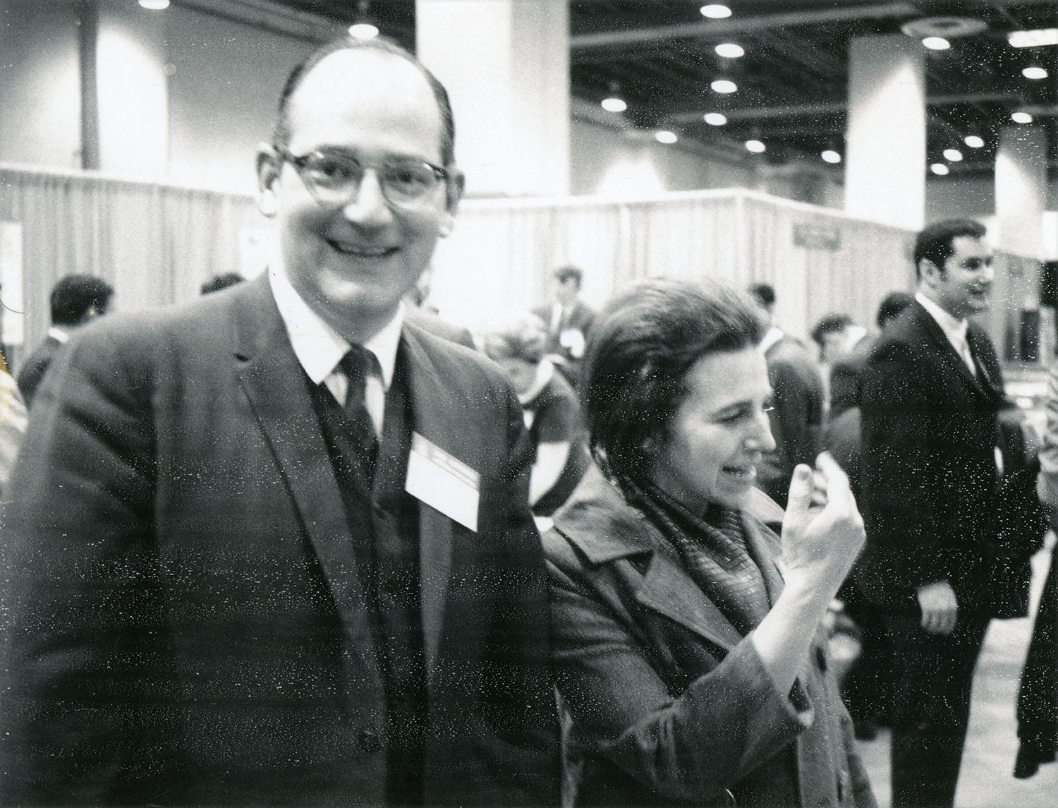 Richard Varga and Leila Bram