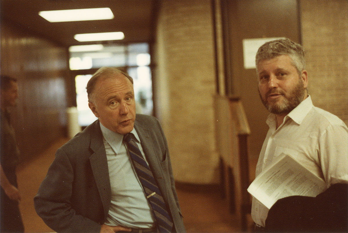 John Wheeler and Arthur Komar