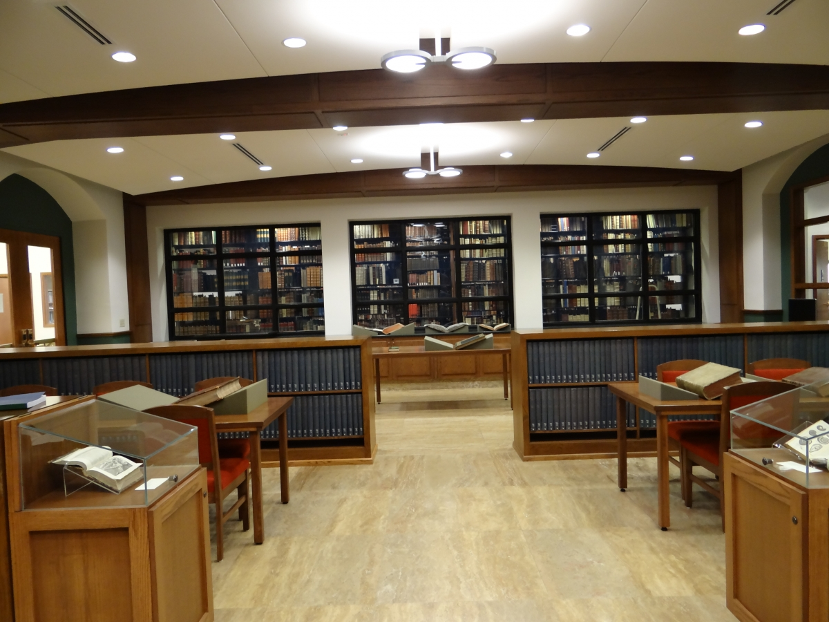 Linda Hall Library Rare Book Reading Room