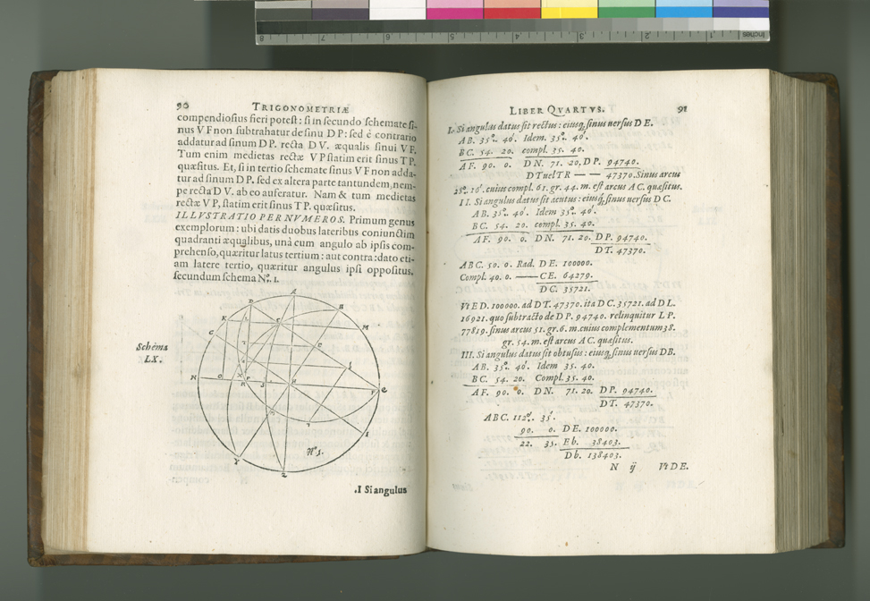 From Pitiscus's Trigonometry