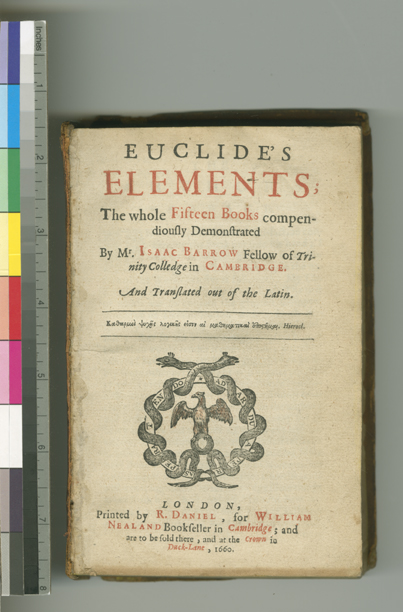 mathematical treasures isaac barrow s edition of euclid s elements