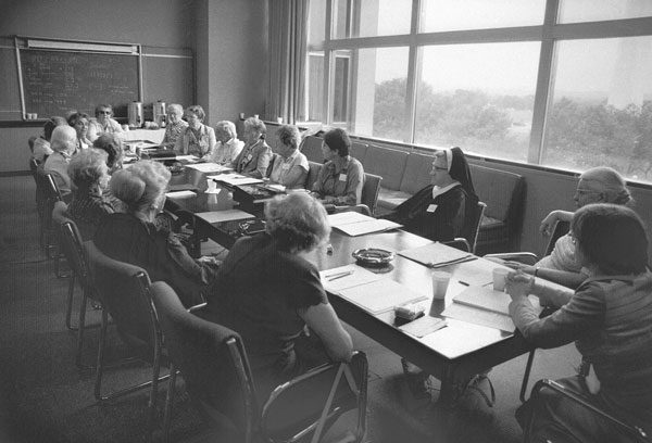 Women PhDs in mathematics honored at NMAH, 1981.