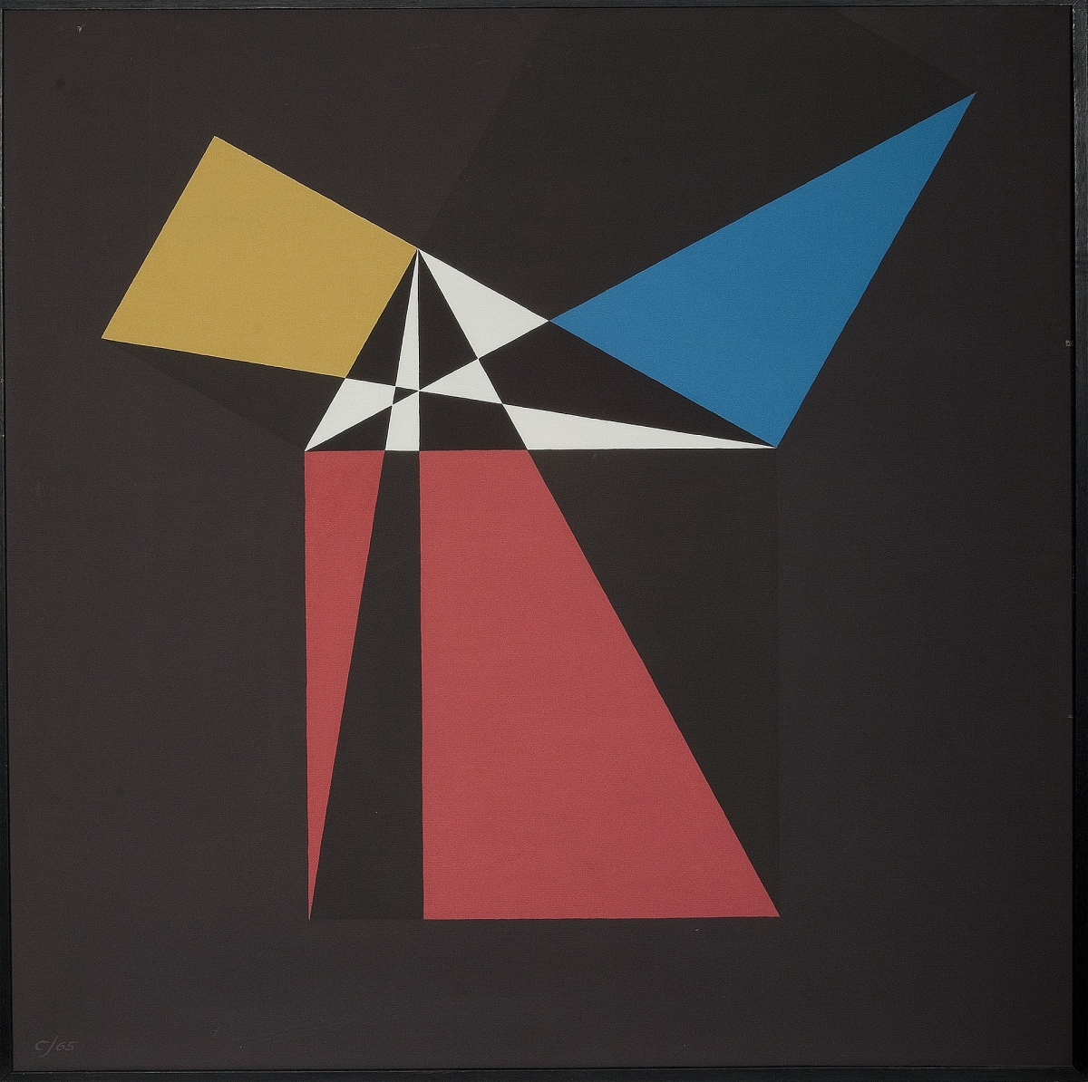 Crockett Johnson, Proof of the Pythagorean Theorem (Euclid), 1965