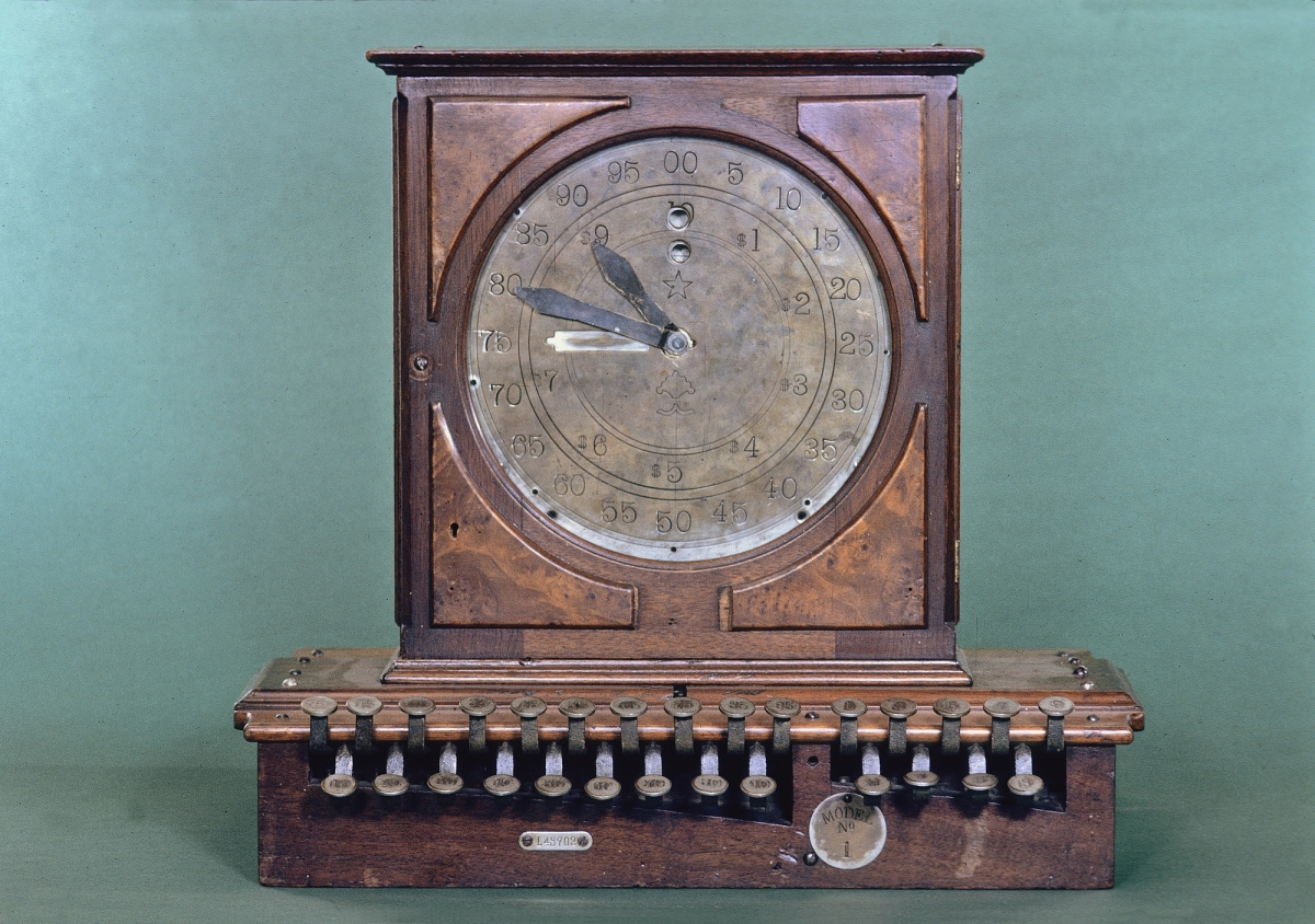Prototype or Replica of Ritty Model 1 Cash Register, circa 1904