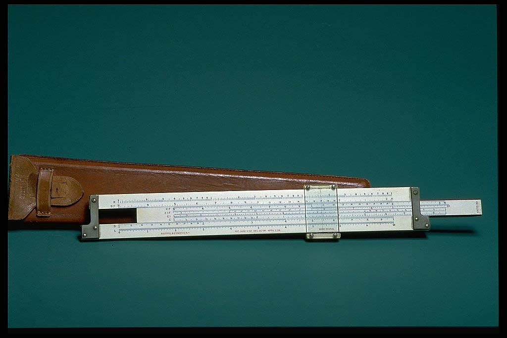 Keuffel & Esser Log Log Duplex slide rule, model 4092-3, ca 1936.