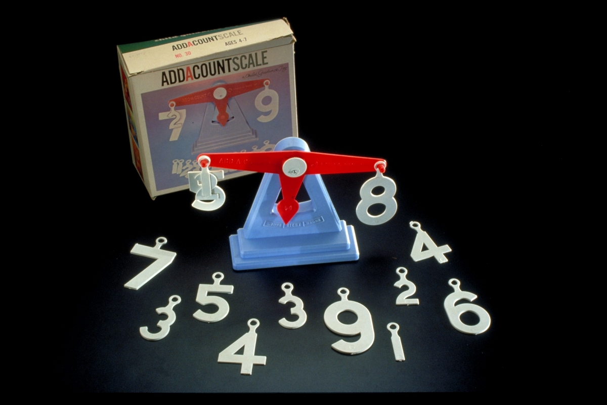 Add-a-Count Arithmetic Teaching Toy, 1950s.