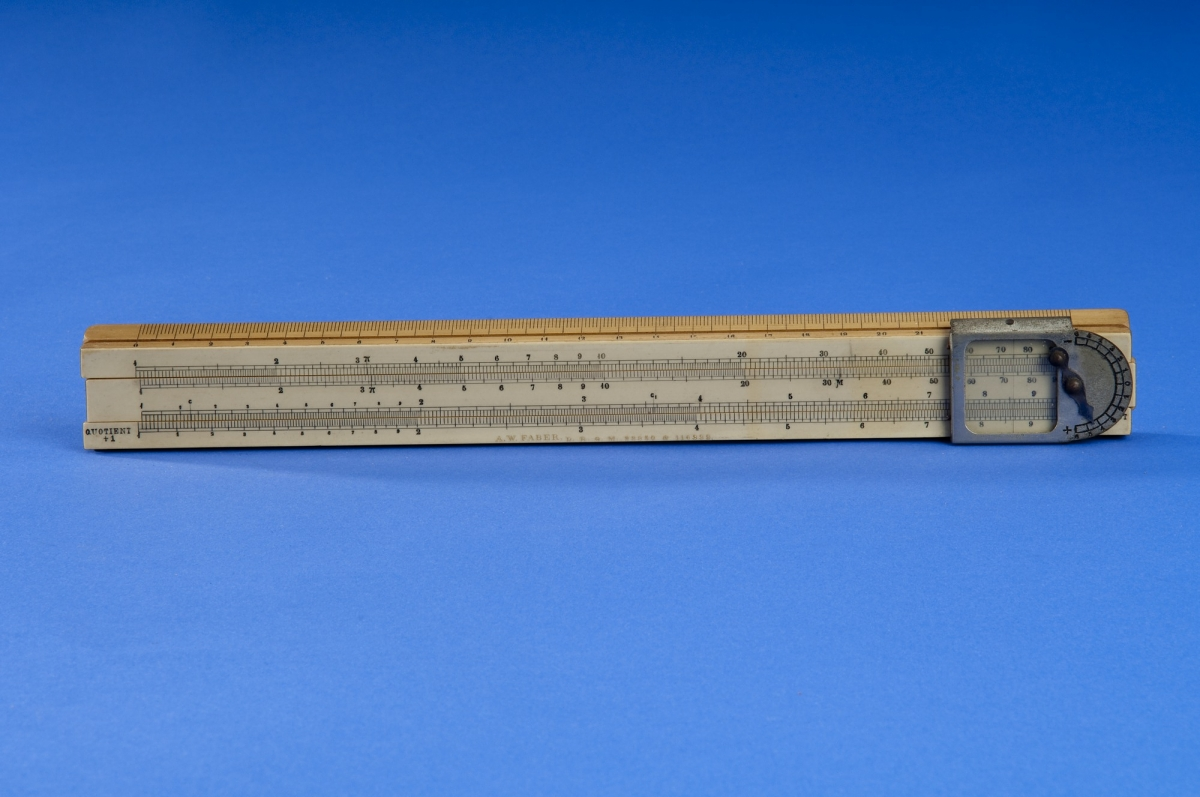 A. W. Faber One-Sided Slide Rule Owned by R. C. Archibald