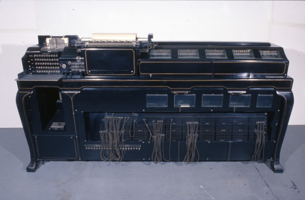 IBM Statistical Tabulator Used by Benjamin Wood