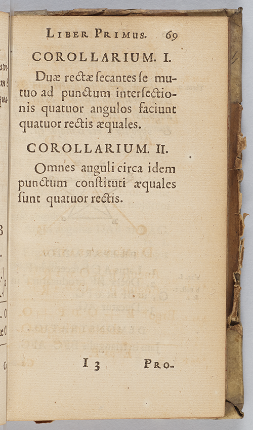 Page 69 from Euclidis Elementorum by Henrik Coets, 1692