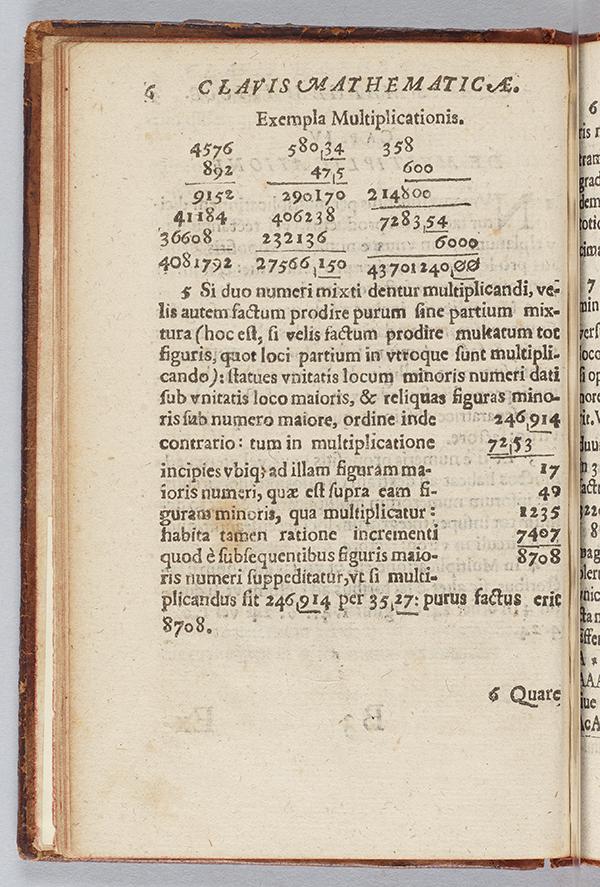 Oughtreds Key To Mathematics 1631 Mathematical Association Of