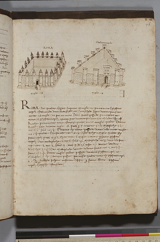 Third folio from Trattato dell'abbaco by Paolo Dagomari, 1339