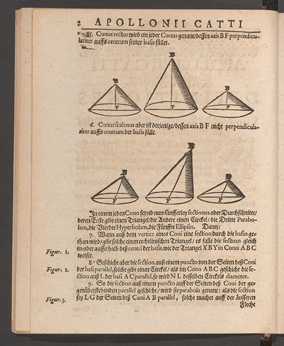 Page 2 of Apollonius Cattus oder ... Geometriae by Benjamin Bramer and Jost Burgi, 1684