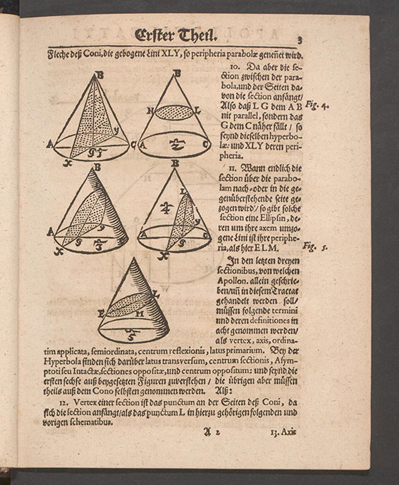 Page 3 of Apollonius Cattus oder ... Geometriae by Benjamin Bramer and Jost Burgi, 1684