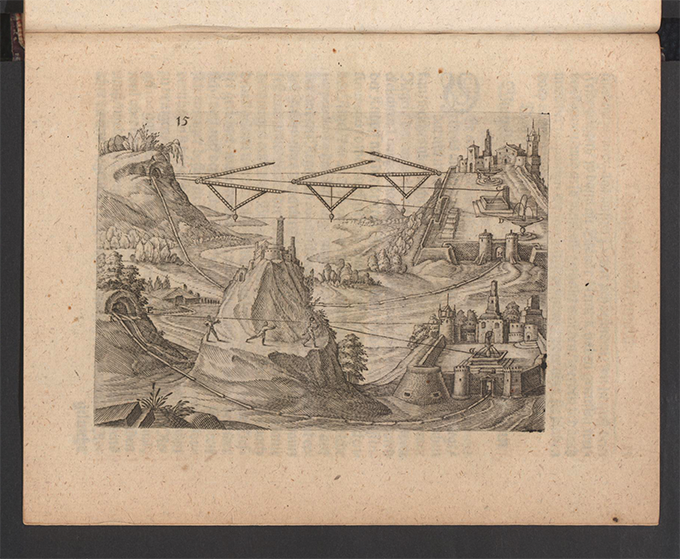 Plate 15 from Part 3 of Apollonius Cattus oder ... Geometriae by Benjamin Bramer and Jost Burgi, 1684