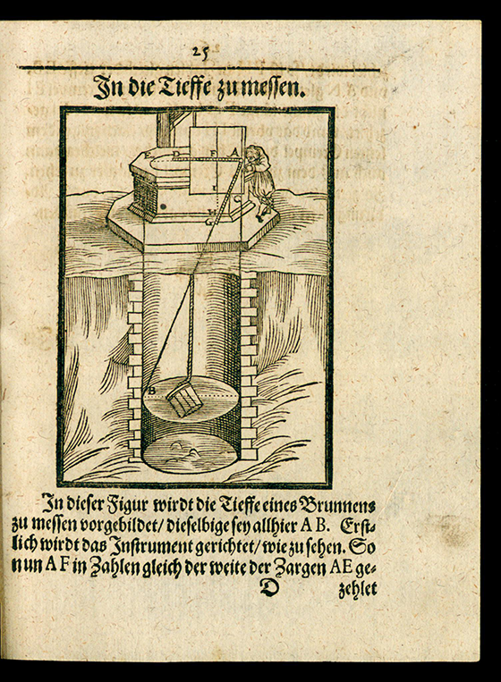 Page 25 of Trigonometria planorum mechanica by Benjamin Bramer, 1617