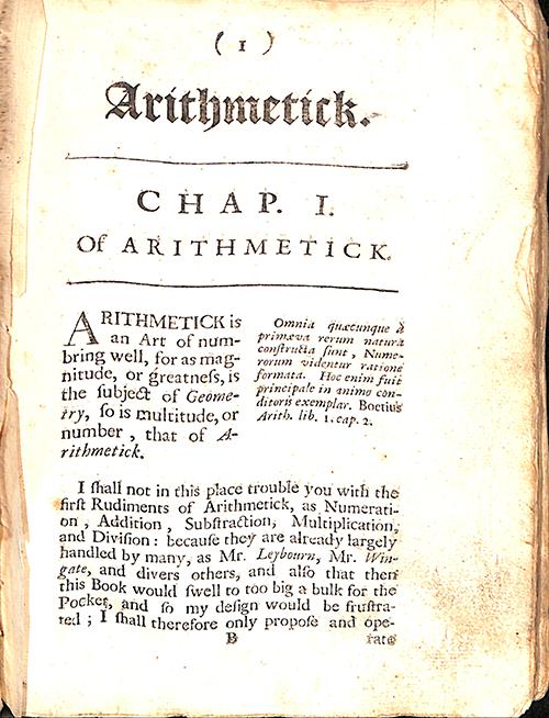 Mathematical Treasure: Taylor's Treasury of Mathematicks